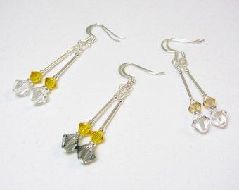 Swarovski Pendulum Earrings