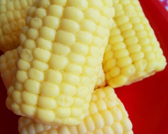 Corn On The Cob Soap - Food Soap, Corn Soap, BBQ Soap, Party Favors, Gag Gift, Gift for Him, Prank Soap, Lemon Scent, Soap Favors, Kids Soap