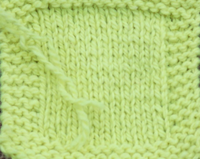 Neon Yellow 2 ply Kettle Dyed wool worsted weight yarn from our farm