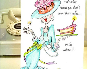 Funny card for her girl friend birthday funny women cards funny birthday card funny women humor greeting cards for her women humor funny women cards funny birthday m4hsunfo