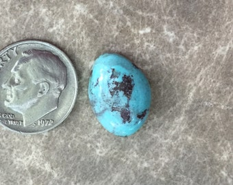 American Mined Turquoise Cabochon, 7.5 Carats