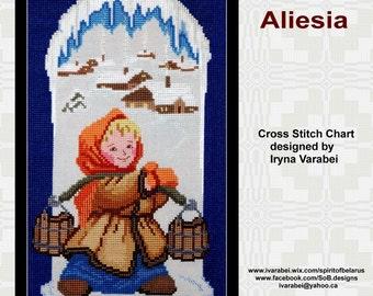 Aliesia Cross Stitch Pattern