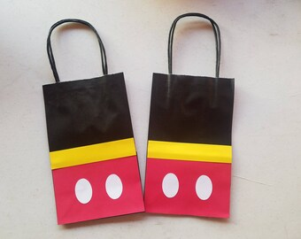 Mickey Mouse party bags (24 count)