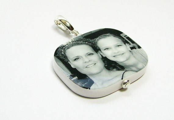 Custom Photo Pendant - Large with Rounded Corners - P1R
