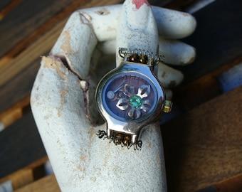 Watch Housing Steampunk Ring