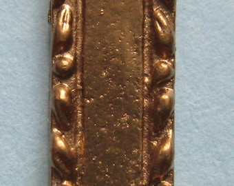 1/12th Scale Dolls' House Brass Fingerplate (Sold Singularly)