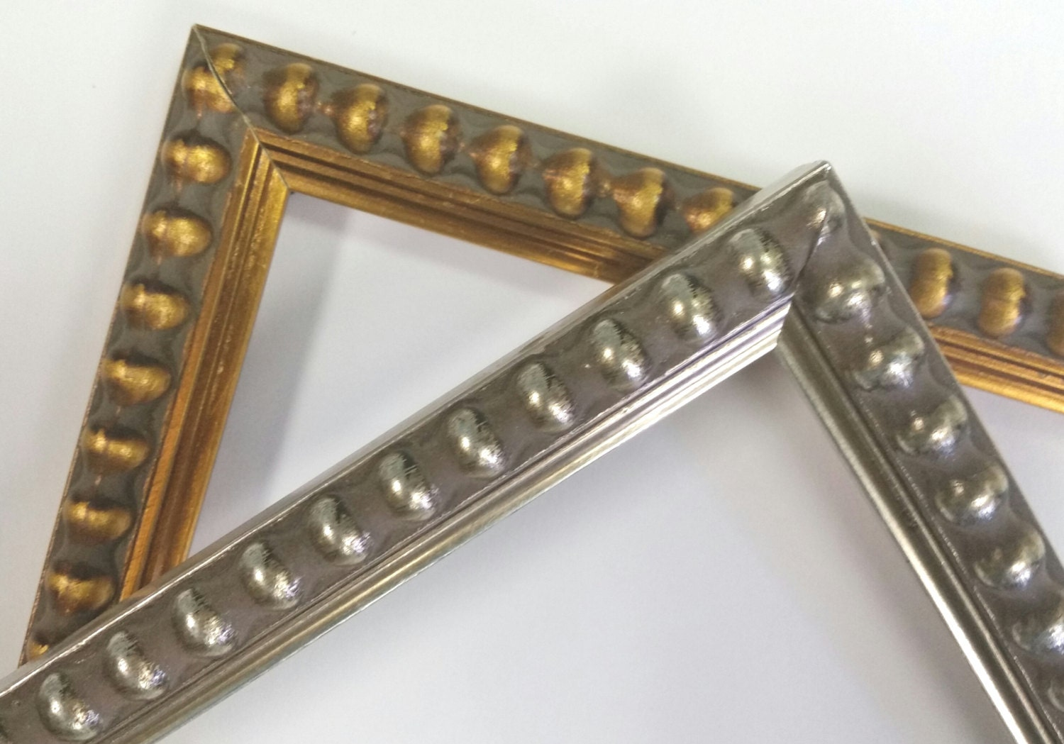 14 x 18 20 x 24 beaded gold warm silver picture frames photo sold by dreesefineart jeuxipadfo Gallery
