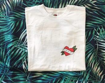 Feminist Tattoo T-shirt