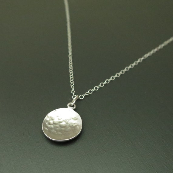 Sterling Silver Coin Necklace