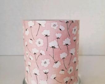 Candle Holder, Tealight Holder, Votive Holder, Tealight Lantern, Tealight Holder, Pink Candle Holder, Flower Candle Holder, Flower Lantern