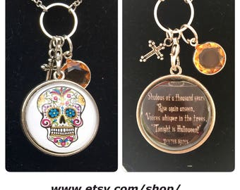 Halloween - Day of the Dead - Skull Necklace