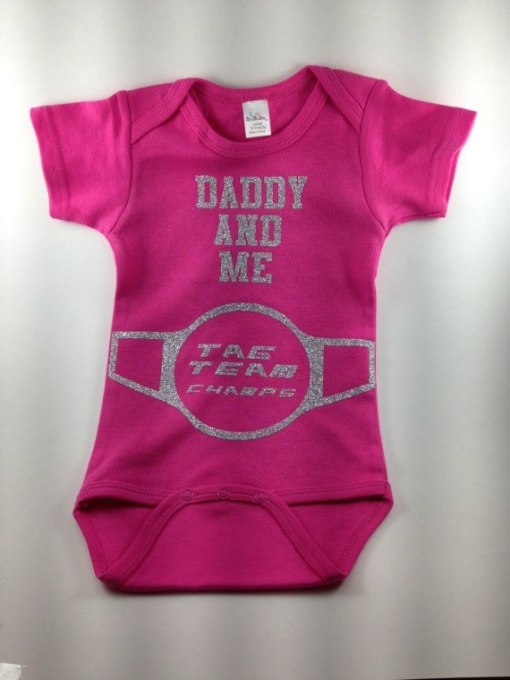 Wrestling Baby Daddy Baby Clothes Wrestling Baby Clothes