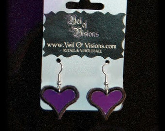 Rock Heart earrings