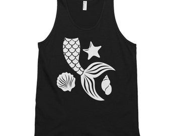 Mermaid Tail, Classic tank top (unisex)
