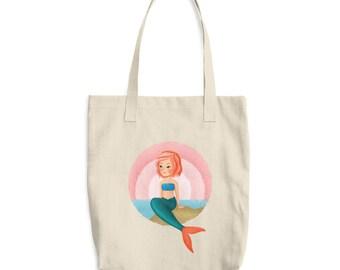 Mermaid Tote Bag - Recyclable Bag - Go Green