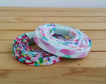 """1/2"""" double fold bias tape binding, 3yd rolls, all sizes available by request"""