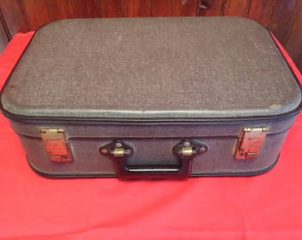 Old VINTAGE cardboard suitcase