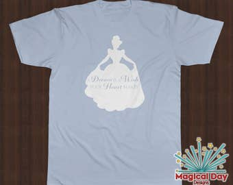 Disney Shirts - A Dream is a Wish your Heart makes - Cinderella