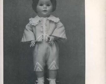 FREE usa SHIP Byron Doll Pattern 1980's 38 Twirp Paul Boy Fits 19.5 Old Store Stock Sewing Pattern