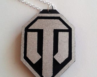 World of Tanks Necklace or Fridge Magnet