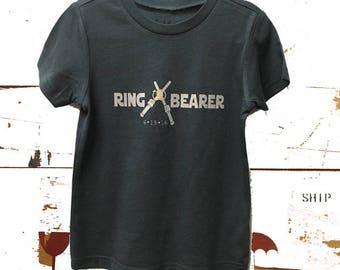 Star Wars ring bearer shirt