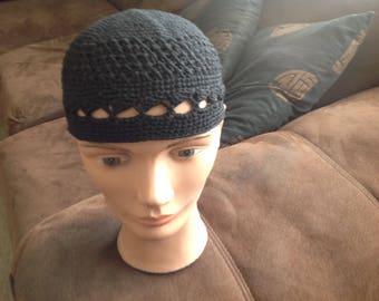 Hat crochet skull cap prayer Kufi yamulka Yama beret