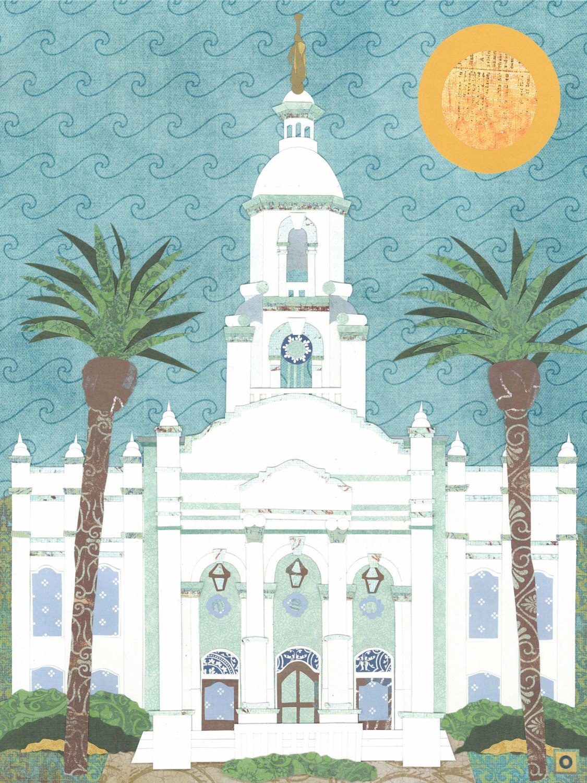 Tijuana Mexico LDS Temple PRINT Various Sizes