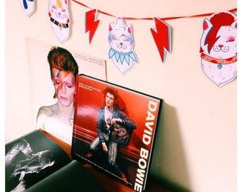 Bowie Kitties - David Bowie Inspired Garland / Bunting