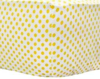 Yellow & Pink Chevron Sunnyside Up Crib Baby Bedding   Crib Sheet
