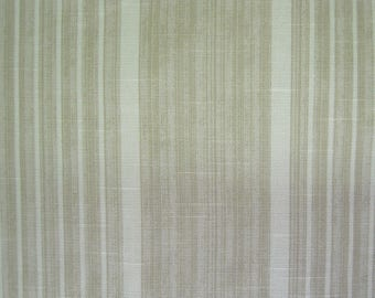 Fabric - Kravet, Classic Stripes, Taupe, Cotton, Green, Sewing, Upholstery, Crafts