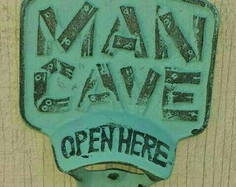 Mancave Bottle Opener, cast iron