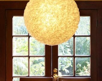 "Moonball Pendant Light 28"""