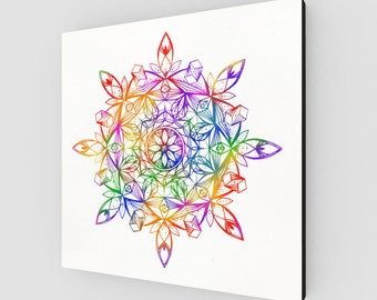 Royalestial Rainbow Canvas Print