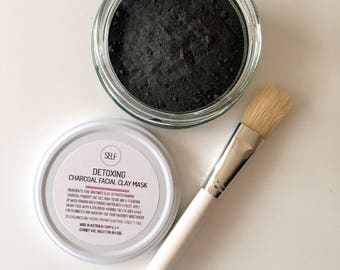 ORGANIC Detoxing Activated Charcoal Face mask 50g