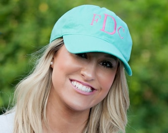 Monogram Mint Cap for Women