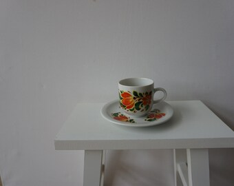 Cup and saucer-Winterling Schwarzenbach Bavaria Germany