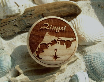 Furniture Knob Zingst Engraving Baltic Sea Spa Lagoon