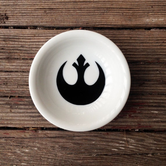 Ring Dish | Star Wars Wedding | Rebel Alliance | Engagement Gift | Jewelry Dish