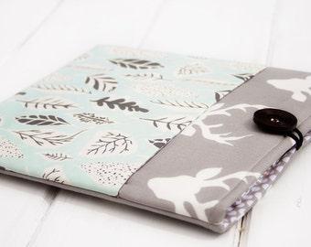 """Macbook Case,  Macbook Pro Case, Macbook Air Case, 13"""" and 11""""  Macbook Sleeve, Laptop Case, Computer Case, Laptop Sleeve in Deer Buck Leaf"""