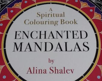 Spiritual Colouring Book - Enchanted Mandalas