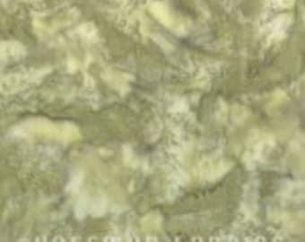 Lizard - Olive Green 1895-282 by Hoffman Fabrics Bali Hand Dyed Cotton Batik Yardage