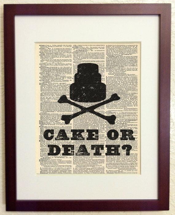 Eddie Izzard Cake Or Death Quote