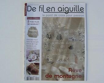 Yarn needle No. embroidery magazine. Véronique Endinger 35