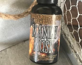 Manly Musk Beard Oil