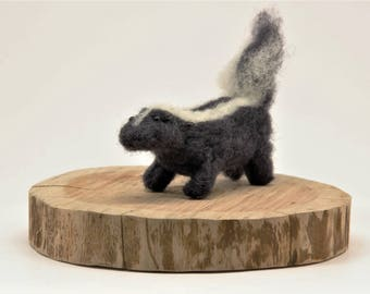 Felted Skunk