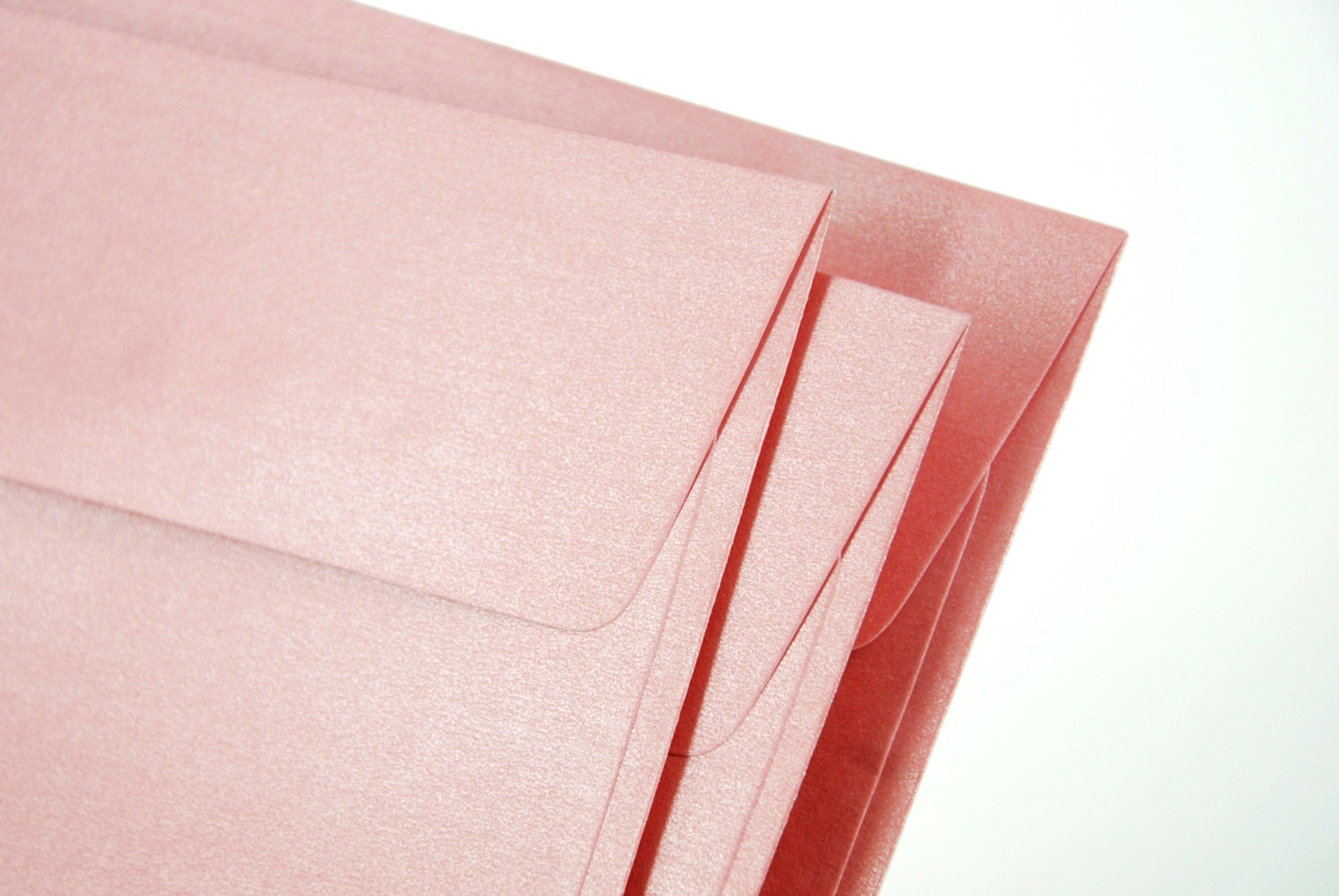 A7 (5x7) Metallic Pink Envelopes - Perfect for 5\