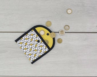 Cotton pouch/coin holder