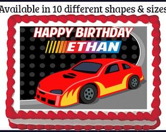 Race car cake Etsy