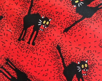 Halloween cotton fabric