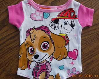 Paw Patrol Shirt//Dog Shirt//Dog Clothing//Shirt for Dogs//Dog Accessories//Cute Dog Shirts//FREE SHIPPING